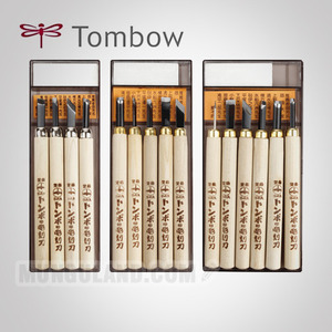 Tombow 톰보 조각도 4본/5본/6본(PS-4/PS-5/PS-6)