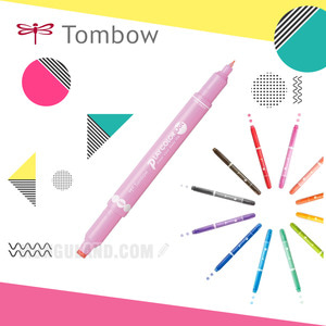 Tombow 톰보 플레이 칼라 도트 3색 세트 Play Color dot