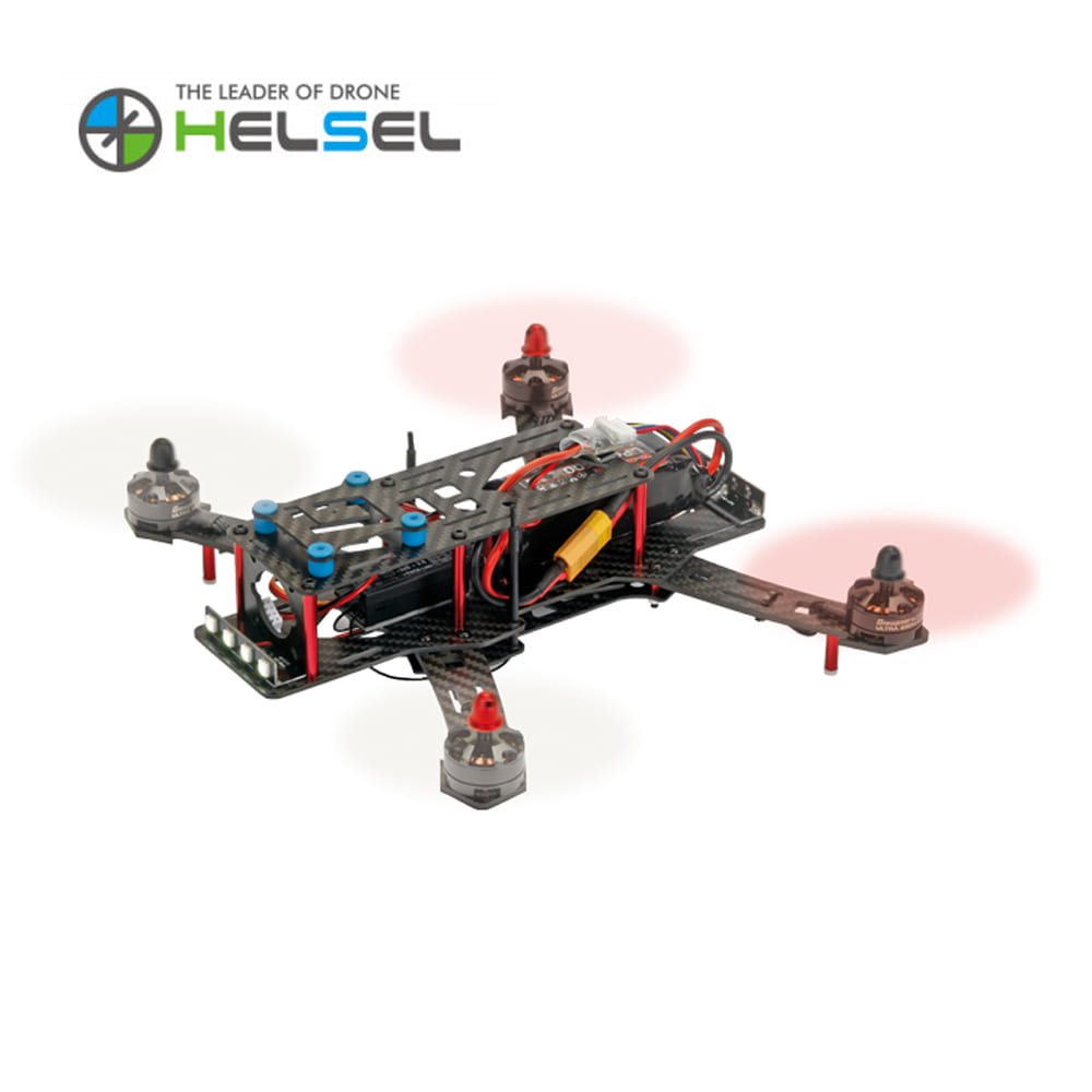[HELSEL] HoTT Race Copter Alpha 250 드론 (조립버전)